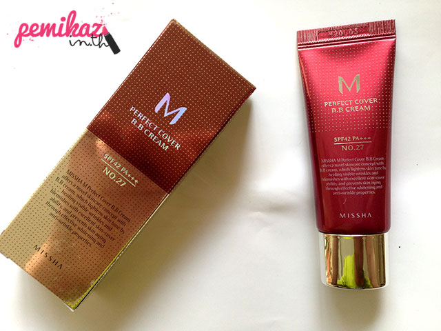 Review/Swatch : Missha M Perfect Cover BB Cream SPF 42 PA+++