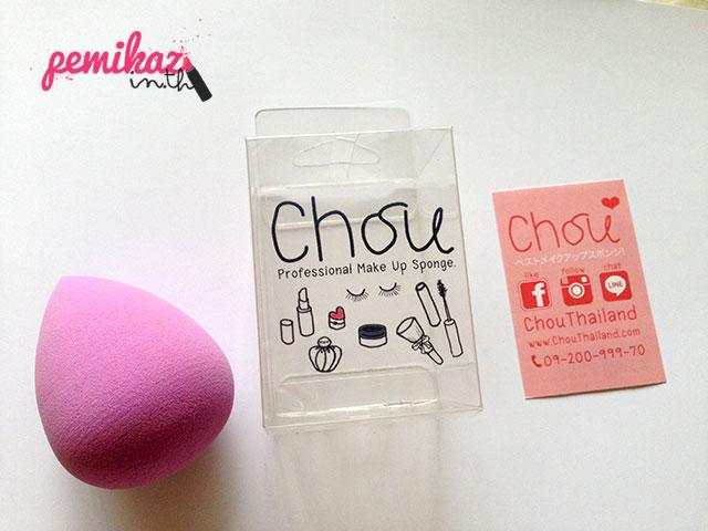 Review : Chou ฟองน้ำเอนกประสงค์ สลบรอยสิวทุกเม็ด!
