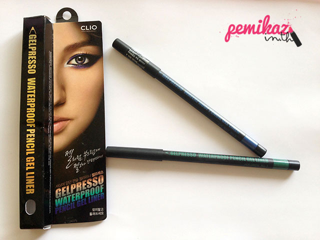 Review/Swatch : Clio Pencil Eyeliner