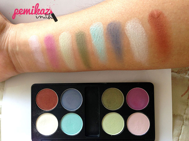 Review/Swatch : อายแชโดว MTI Sign Collection