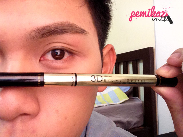 Review+How to : Mistine 3D Eyebrowns Secret เพราะคิ้วคือมงกฎของใบหน้า