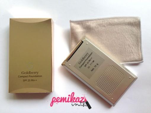 Goldberry Compact Foundation SPF25 PA++-1