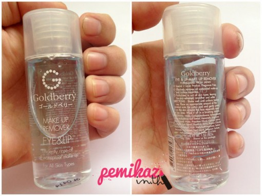 Goldberry Make Up Remover -1