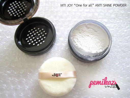 MTI JOY ANTI SHINE POWDER 5