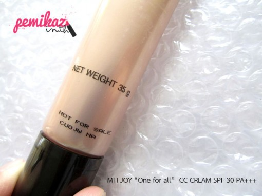 MTI JOY  CC CREAM SPF 30 PA+++ 2