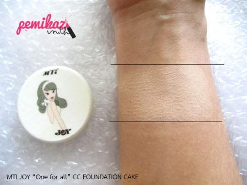 MTI JOY CC FOUNDATION CAKE 5