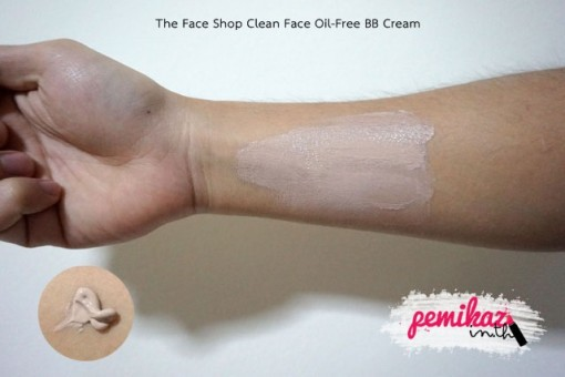 The Face Shop Clean Face Oil-Free BB Cream 2