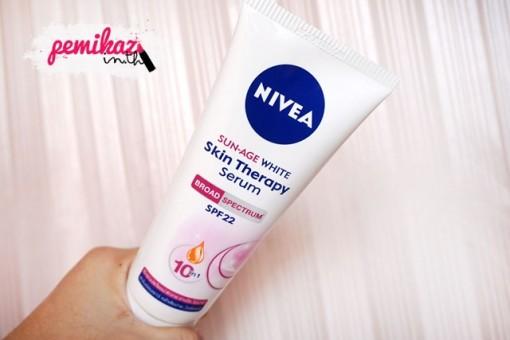 3 - NIVEA Sun-Age White Skin Therapy Serum SPF22