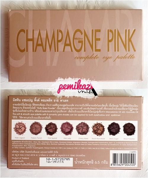 Mistine Champage Pink - 1