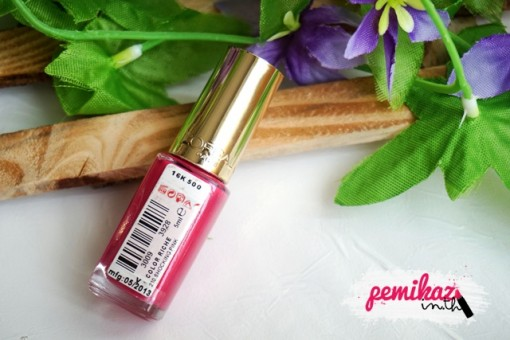 L'Oreal Paris Color Riche Vernis 210 Shocking Pink Nail Enamel
