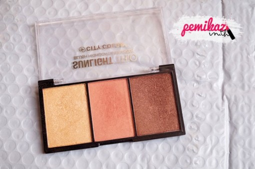 Pemikaz-Luxola-CITY-COLOR-Sunlight-trio-Bruh-highlight-beonzer