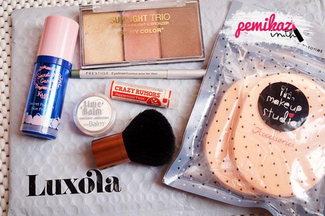 เปมิกาสอน Shopping Luxola ยังไงให้ปัง คุ้มกระเป๋าตังเรามากที่สุด!