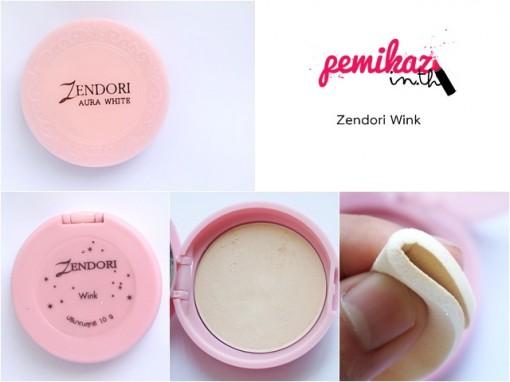 Zendori ตลับชมพู Aura Wink 2