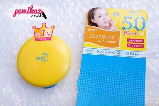 U-star Solar Shield Sun Pro Compact SPF50 PA++++ 1