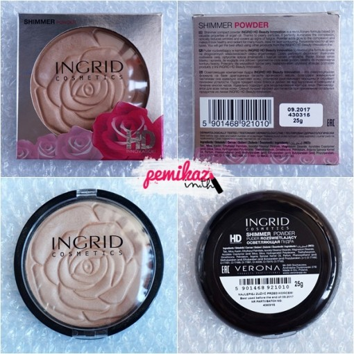 Pemikaz - Ingrid Shimmer Powder HD - 5