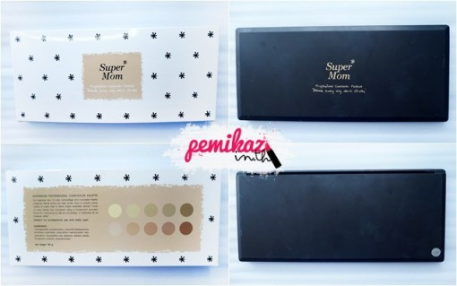 pemikaz supermom concealer palate - 1