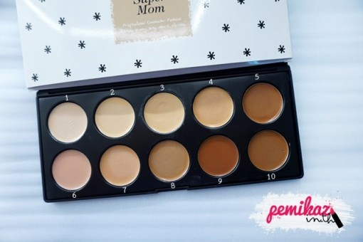 pemikaz supermom concealer palate - 2