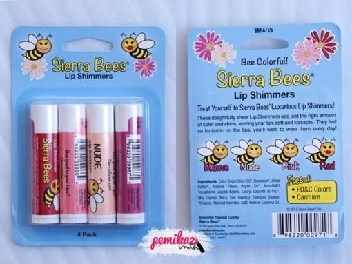 PEMIKAZ IHERB Sierra Bees lip shimmer - 1