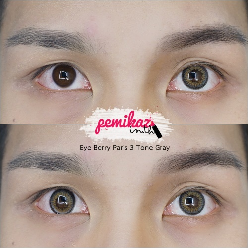 pemikaz - eyeberry paris 3 tone gray