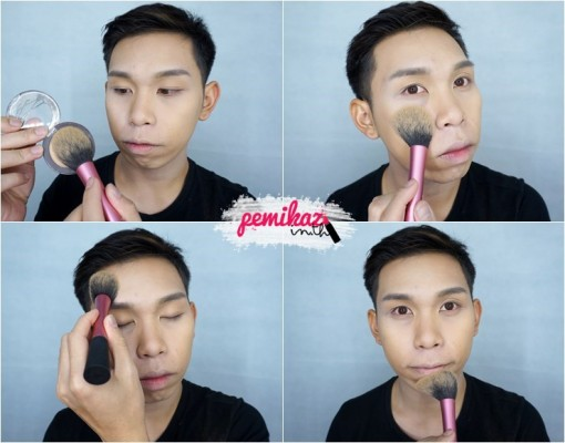 Ver.88 Bounce Up Pact Mini Howto Contour - 10