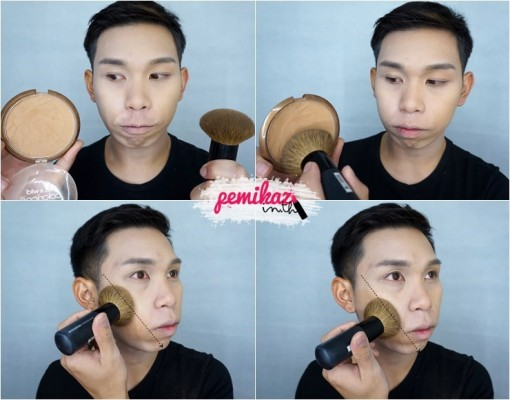 Ver.88 Bounce Up Pact Mini Howto Contour - 6