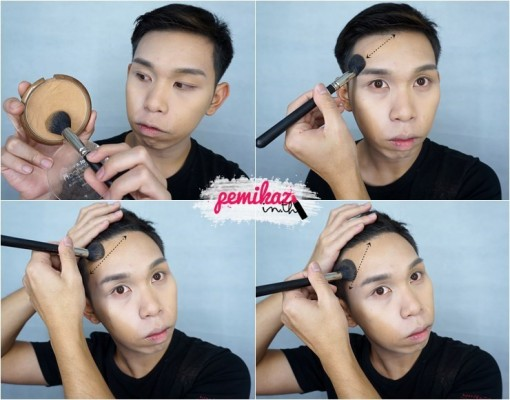 Ver.88 Bounce Up Pact Mini Howto Contour - 7