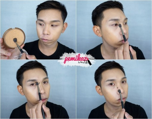 Ver.88 Bounce Up Pact Mini Howto Contour - 8