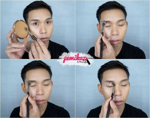 Ver.88 Bounce Up Pact Mini Howto Contour - 9