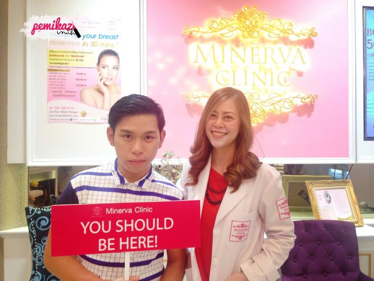 เปมิกาพามารักษาสิว บอกลารอยสิว ใบหน้า/แผ่นหลัง แบบไม่เจ็บตัวที่ Minerva Clinic