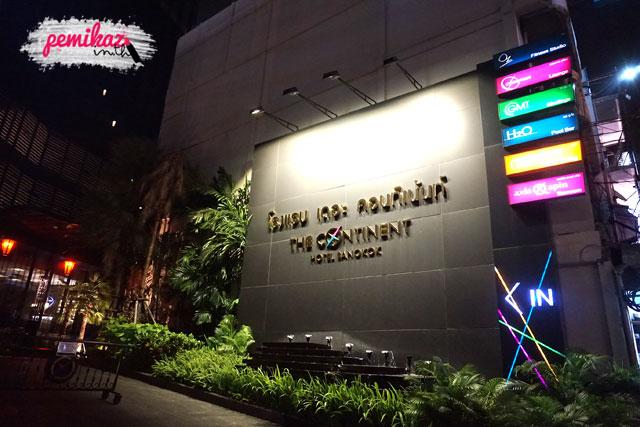 เปมิกาพาดินเนอร์หรู (บุฟเฟ่ต์) + บาร์ชิล แบบชิคๆ ที่โรงแรม เดอะ คอนทิเน้นท์ กรุงเทพ