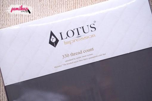 Moxy - LOTUS Impression Bedsheet Set 6FT 5PCS (Carbon Grey)