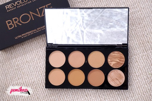 Moxy - Makeup Revolution Bronze Palette All About Bronze