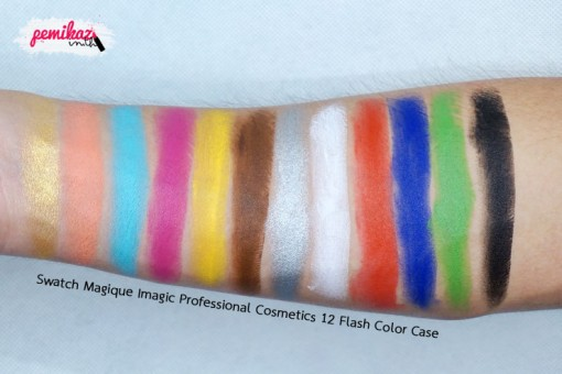Swatch-Magique-Imagic-Professional-Cosmetics-12-Flash-Color-Case