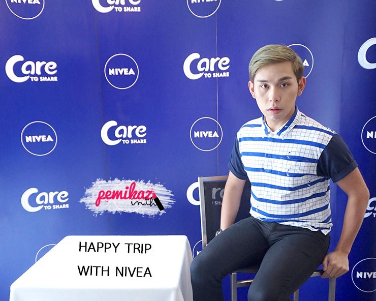 เปมิกาพาทัวร์ Happy Trip with NIVEA ที่ pull man Bangkok Hotel G
