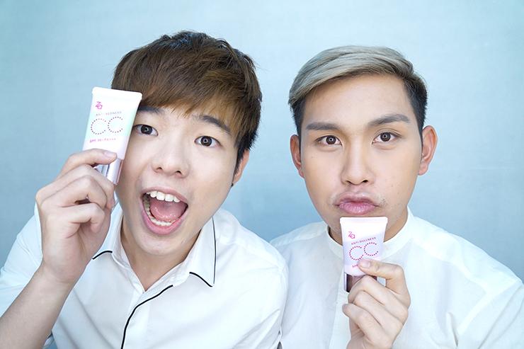 เปมิกาพามาทดสอบประสิทธิภาพ Za Color Match Shield CC Cream กัน