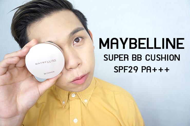 เปมิการีวิว Maybelline Super BB Cushion SPF29 PA+++ ปกปิด ฉ่ำโกลว์ ไม่วอก!