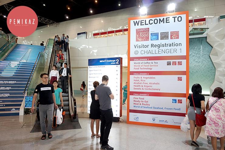 เปมิกาพาทัว ช้อป ชิมงาน THAIFEX WORLD OF FOOD ASIA 2016
