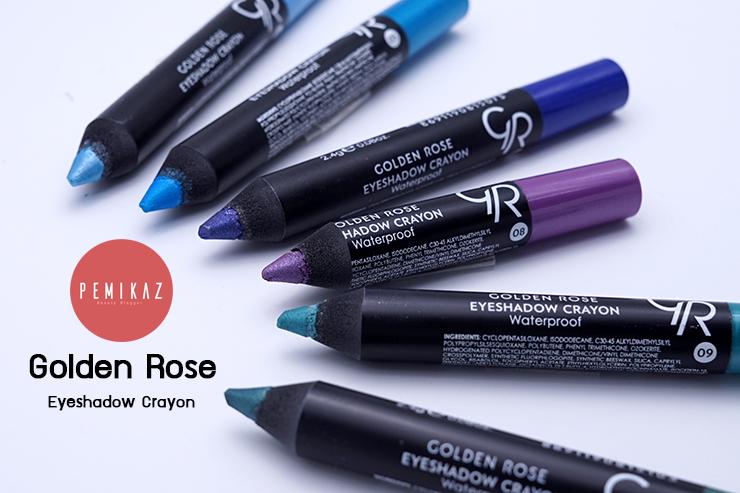 เปมิการีวิว Golden Rose Eyeshadow Crayon พร้อมครีเอท 3 ลุค 3 สไตล์สุดปัง!