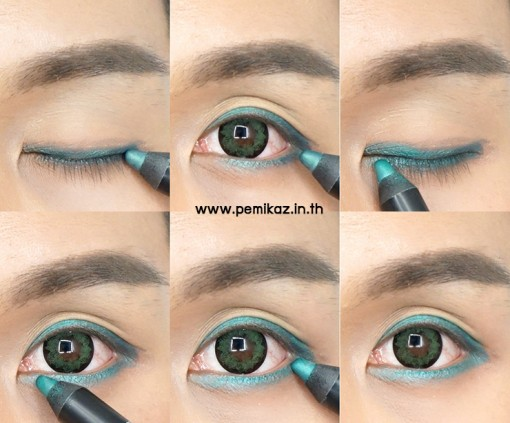 golden-rose-eyeshadow-crayon-green-look