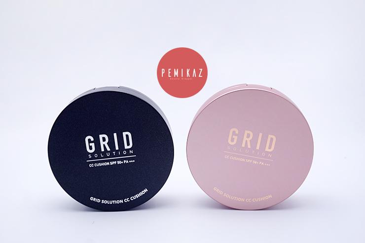 เปมิการีวิว GRID Solution CC Cushion SPF50+ PA+++ กริบ เบาบาง เกาหลีสุดๆ
