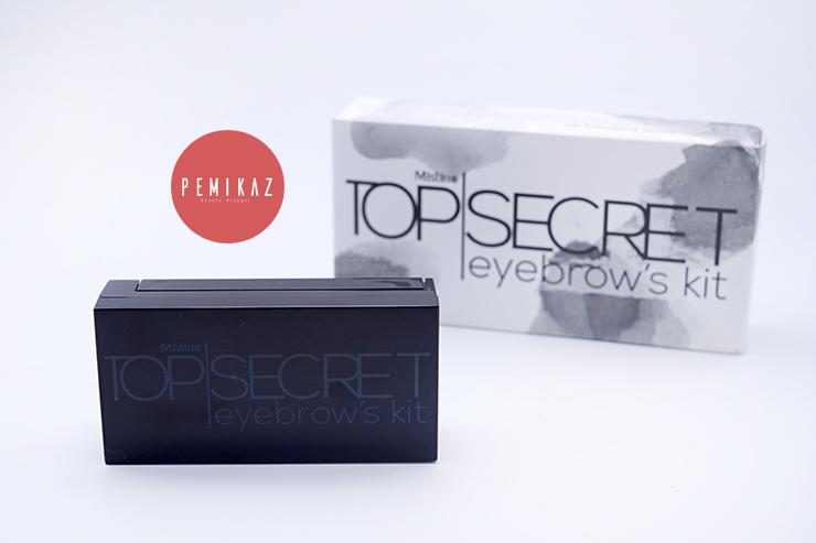 เปมิการีวิว Mistine Top Secret Eyebrow's Kit คิ้วปัง นัวในราคาเบาๆ