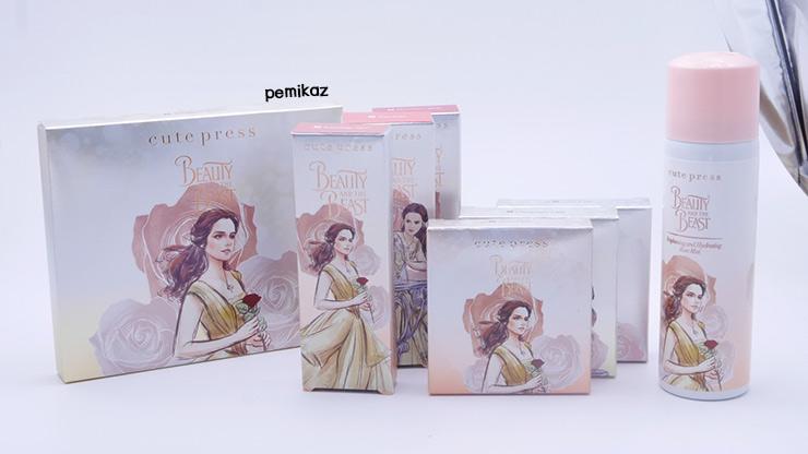 รีวิว Cute Press Beauty And The Beast Collection สุดปัง น่าสะสม เนื้อดี ต้องมี!