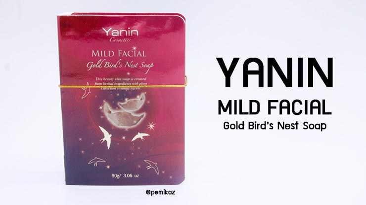 รีวิว Yanin Mild Facial Gold Bird's Nest Soap สบู่รังนก สำหรับคนผิวแพ้ง่าย
