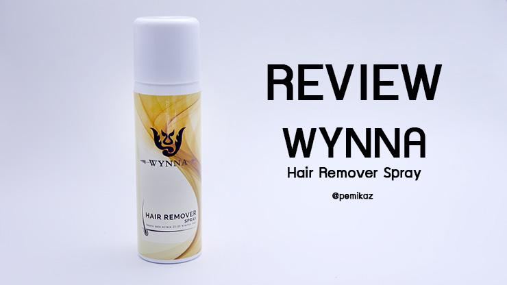 รีวิว WYNNA Hair Remove Spray มูสกำจัดขนง่ายๆ ได้ที่บ้าน