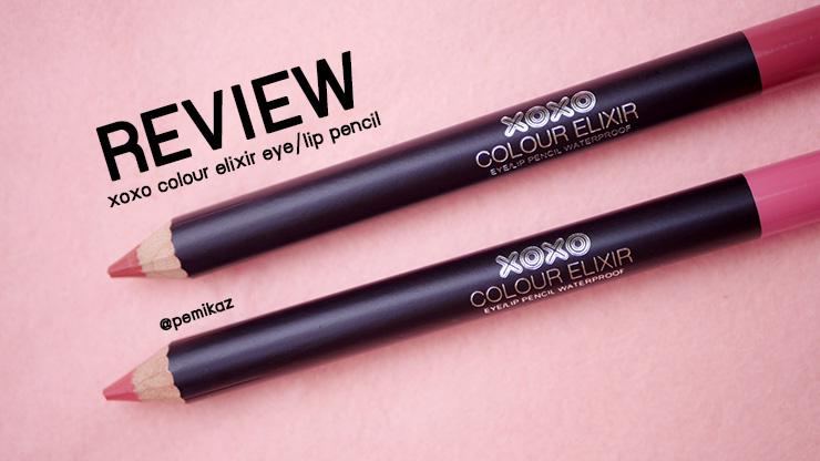 รีวิว XOXO Colour Elixir Lip Pencil ลิปดินสอ สีสวย เม็ดสีแน่น ในงบ 99 บาท