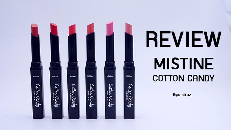 รีวิว Mistine Cotton Candy Lipstick ลิปสีเปลี่ยนตามอุณภูมิ สวยชิค ไม่เหมือนใคร