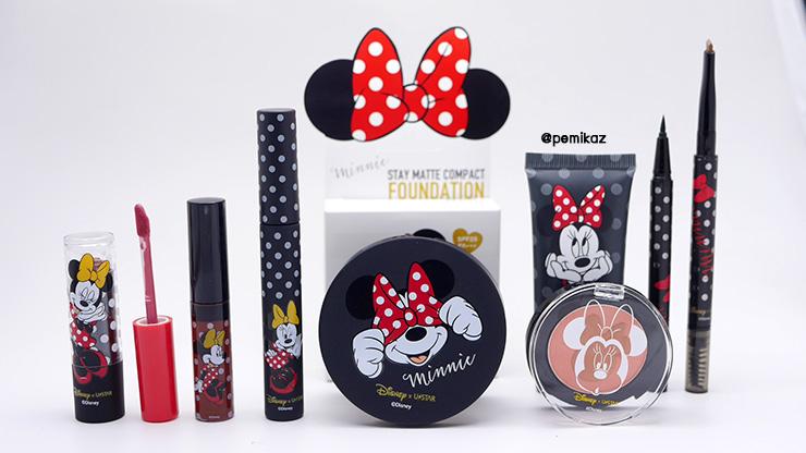 รีวิว Ustar x Disney There's Only One Minnie + Swatch ทุกสีจัดเต็ม!