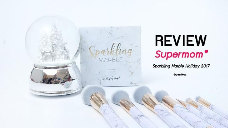 รีวิว Supermom Sparkling Marble 2017 เซ็ตลายหินอ่อนถูกและดีจนร้องขอชีวิต!
