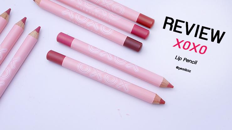 รีวิว XOXO Lip Pencil 2018 ลิปถูกและดี สายเกา ที่ควรตำควรมี
