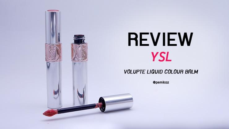 รีวิว YSL Volupte Liquid Colour Balm กับ 2 สีที่เปมเลือกแล้วว่าปังม๊าก!
